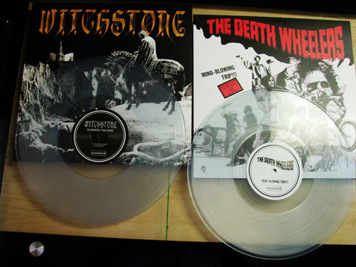 Witchstone / The Death Wheelers - Summon The End / Mind-Blowing Trip!!!
