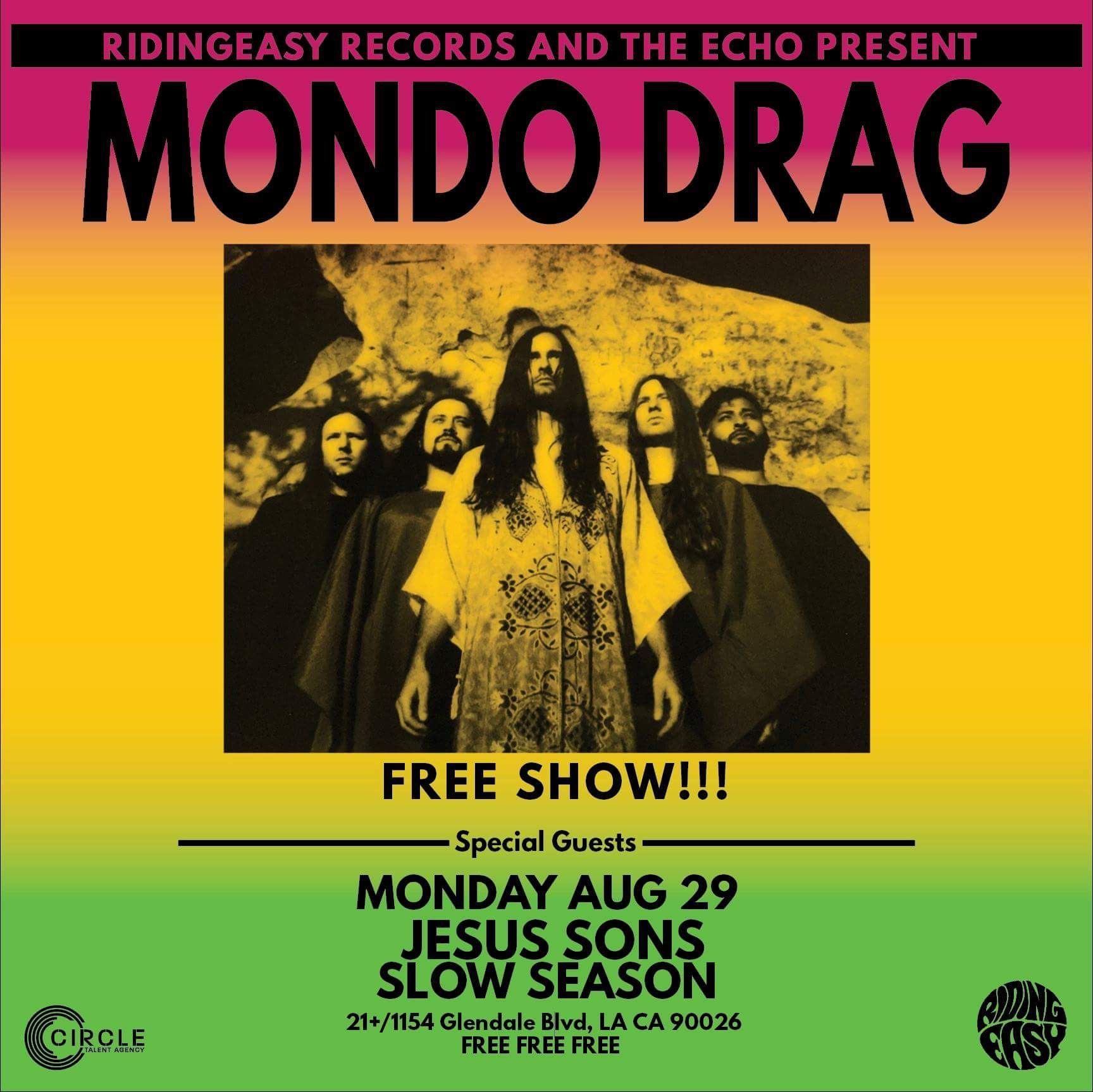 Mondo Drag at the Echoplex